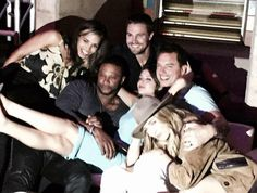 Stephen, David, Willa, Caity, Barrowman & Ciara #Arrow #SDCC 2015 #CWSDCC