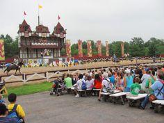 JOUST! Pennsylvania Renaissance Faire, Manheim, PA Open Weekends August - October.  http://www.whereandwhen.com/things+to+do/Pennsylvania+Renaissance+Faire/