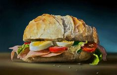 25 Mega Realistic Oil Paintings by Dutch Artist Tjalf Sparnaay. Follow us www.pinterest.com/webneel