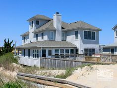 Sea Reunion 483 Oceanfront - 6 bedrooms - $7000 - Sunday Rental - Has character.
