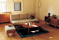 ALBERO(アルベロ) ローテーブル チーク | ≪unico≫オンラインショップ:家具/インテリア/ソファ/ラグ等の販売。
