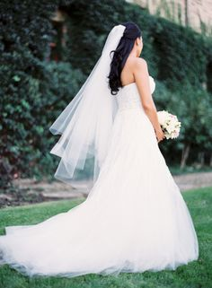 Wedding dress: http://www.stylemepretty.com/california-weddings/napa/2015/03/23/summer-wedding-at-the-culinary-institute-of-america-at-greystone/ | Photography: Josh Gruetzmacher - http://www.joshgruetzmacher.com/