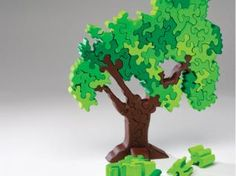 A fun gift for the tree hugger in your life, this puzzle is an easy scroll saw project.
