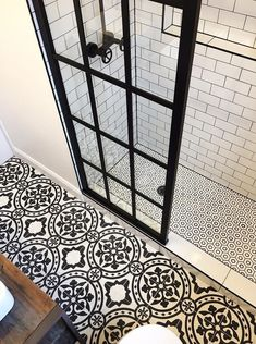 Style up your Ordinary Bathroom with These Spanish Tile Bathroom Ideas is part of Small farmhouse bathroom For those who have high taste of art usually pay more attention in choosing detail bathroom - Bad Inspiration, Bathroom Inspiration, Small Bathroom, Master Bathroom, Bathroom Ideas, Bathroom Inspo, Bathroom Renovations, Minimal Bathroom, Basement Bathroom