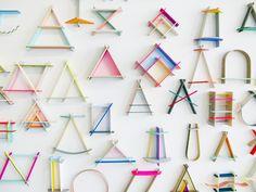 cool wall art/shelves