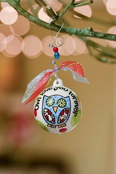 HauteLook   Glory Haus: Owl Love You Forever Ball Ornament