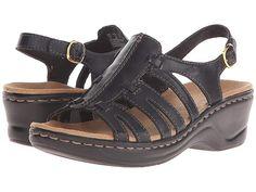 2f6757db6638 Clarks Lexi Marigold Q (Black Leather) Women s Sandals. The Lexi Marigold Q  is