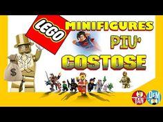 10 Lego Minifigures Rare e Costose