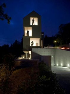 House for 6 Families, Zurich, Switzerland, L3P Architects