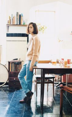 i think she is the girl who acted in Norwegian wood!! saw her on vivi magazine.