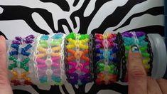 Curly Kisses Rainbow Loom Bracelet - How to Video Tutorial