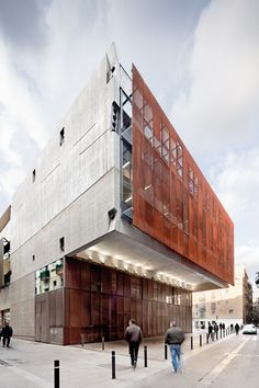 Catalonia Film Institute in Barcelona, Spain by Josep Lluis Mateo