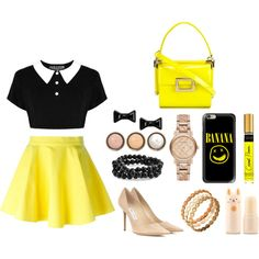 A fashion look from May 2016 by airladysory featuring Jeremy Scott, Jimmy Choo, Roger Vivier, Burberry, Bling Jewelry, Marc by Marc Jacobs, Casetify и By Terry