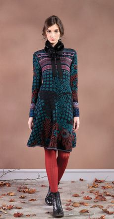 Ivko jacquard dress - added to fall/winter 2013 closet - yeah!