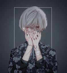 Informations About (notitle) Pin You. Anime Devil, Sad Anime, Otaku Anime, Manga Anime, Dark Anime Guys, Cute Anime Guys, Anime Boys, Anime Triste, Mikuo
