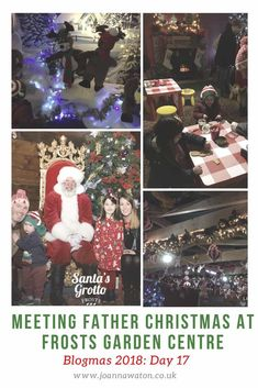 This year we booked to see Father Christmas at Frosts Garden Centre at Millets Farm Centre When we were browsing our options for seeing F. Father Christmas, Winter Activities, Frost, Things To Do, Seasons, Day, Garden, Blog, Things To Make