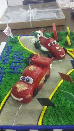 Cars Disney Sculpted Fondant Cake Toppers
