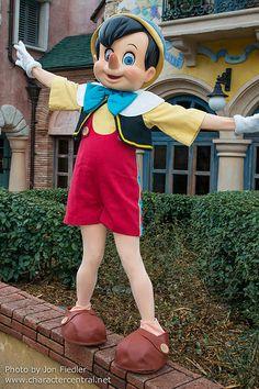 Feb 2014 - Pinocchio - I've got no strings...