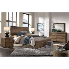 Dimensions King Bedroom Group by Aspenhome