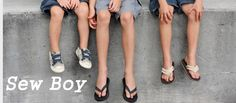 Sew Boy - tons of free patterns and tutorials for sewing boy clothing!