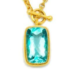 Carolyn Tyler Jewelry - Aquamarine  Pendant