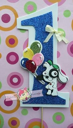 Doki Cake Topper  Topo de Bolo Doki by KawaiiInvention on Etsy, $9.00