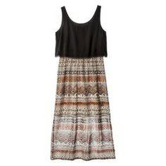 Xhilaration® Junior's 2fer Midi Dress - Assorted Colors