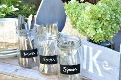 I heart Mason Jars OR 1001 Mason Jar Projects :: Anne @ DesignDreams by Annes clipboard on Hometalk :: Hometalk