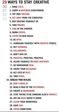 Quotes for Motivation and Inspiration QUOTATION – Image : As the quote says – Description 29 Ways To Stay Creative. But it's so hard for me to break the rules and to clean my table =(: - The Words, Def Not, Writing Tips, Music Writing, Writing Challenge, Improve Writing, Journal Writing Prompts, Writing Poetry, Article Writing