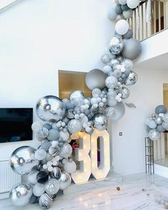 This item is unavailable Agate Balloons Garland Kit Black White Gray Balloon Arch Confetti Globos Birthday Wedding Bab Silver Party Decorations, Hawaiian Party Decorations, Balloon Decorations Party, Balloon Garland, Ballon Arch Diy, Party Decoration Ideas, Balloon Wall, Party Ideas, Black Balloons