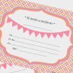 Invitaciones imprimibles GRATIS en La Fiesta de Olivia - Invitaciones para cumpleaños y fiestas infantiles - Fiestas y Cumples - Charhadas.com