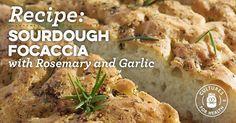 Sourdough Focaccia with Rosemary and Garlic