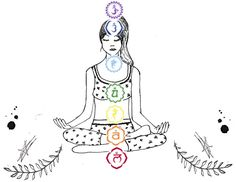 The seven chakras are the energy centers in your body in which energy flows through. Ever since I started practicing yoga I have been aware of these energy points in my everyday life to help me fee… Chakra Healing Music, Chakra Art, Les Chakras, Seven Chakras, Free People Blog, Yoga Journal, Spiritual Health, How To Better Yourself, Yoga Meditation