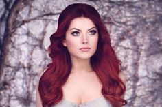 Elena Gheorghe Greatest Country Songs, Romanian Girls, Redheads, Hair Color, Singer, Long Hair Styles, Face, Photography, Beauty