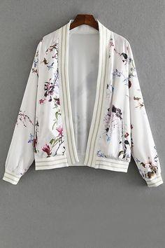 Floral Jacket///
