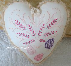 Heart - Embroidery