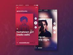 Music player #ux #ui #design #app #music