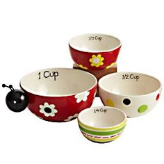 These measuring cups are perfect for baking and they make a great gift for mom...I love it!