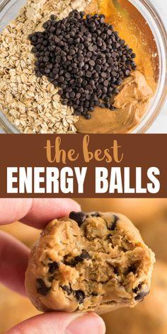 Quick Healthy Snacks, Healthy Sweets, Healthy Breakfast Recipes, Healthy Baking, Healthy Breakfasts, Healthy Breakfast On The Go For Kids, Good Snacks, Quick And Easy Snacks, Healthy Breakfast Cookies
