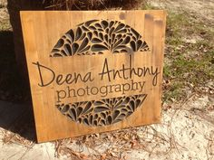 New Sign Fresh Off the CNC! | the wood studio