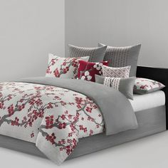 Bedroom Curtains With Matching Bedding Red Bedding