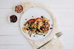 Kale + Roasted Sweet Potato Hash