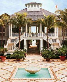 Beach Exterior by John Stefanidis Brands Ltd. and Clemens Bruns Schaub Architect & Associates in Windsor, Florida