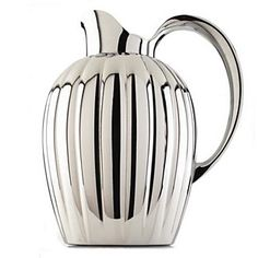 Georg Jensen Bernadotte thermos/pitcher with stopper. An ancient form with a modern twist. This iconic piece, designed by Swedish Prince Bernadotte, is sure to make as big a splash in your home or off