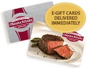 E-Gift Cards delivered immediately