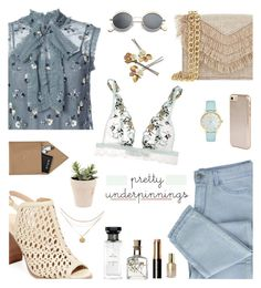 """""""Untitled #214"""" by sonias1116 ❤ liked on Polyvore featuring Needle & Thread, Renvy, Cynthia Rowley, La Perla, STOW, Kenzo, Kate Spade, Givenchy, Bobbi Brown Cosmetics and Stila"""