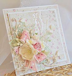floral card handmade
