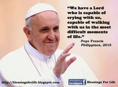 Pope Francis Inspirational Quotes | Blessings For Life