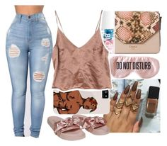 """""""Untitled #2580"""" by kayla77johnson ❤ liked on Polyvore featuring Dune, Blossom, BaubleBar and Puma"""