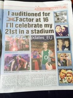 AWHH We are all so proud of you Niall❤️❤️❤️ you deserve everything you're getting! Love you xx